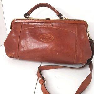 Oroton of Australia rare vintage doctors bag